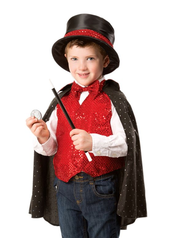 Magician Dress-Up Kids Costume boys Set-Halloween-Aj costumes - Shopzinia Egypt