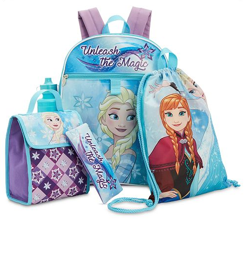 Disney Frozen Little & Big Girls 5-Pc. Backpack & Accessories Set-Aj costumes
