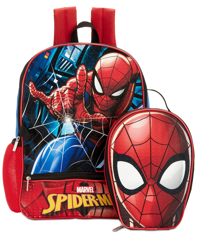 Spider-Man Backpack & Lunch Bag, Little & Big Boys - Aj costumes - Shopzinia Egypt