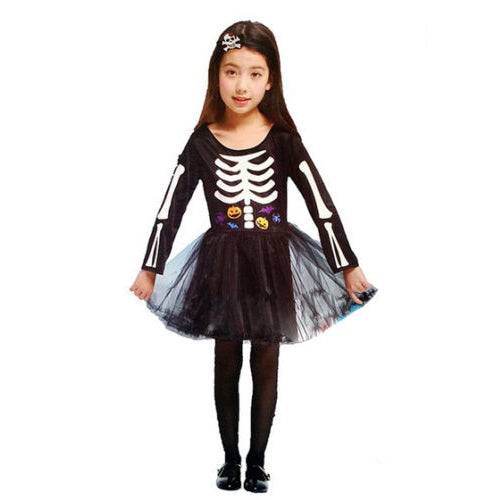 AJ Costumes -BONES BALLERINA-ghost-Halloween Costumes For Girls - Shopzinia Egypt