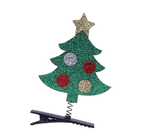Hair Clips Christmas -Tree Hairpin For mom & child - Shopzinia Egypt