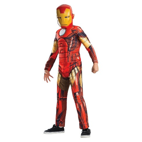 Rubies Deluxe Muscle Chest Kids Iron Man Costume - Shopzinia Egypt