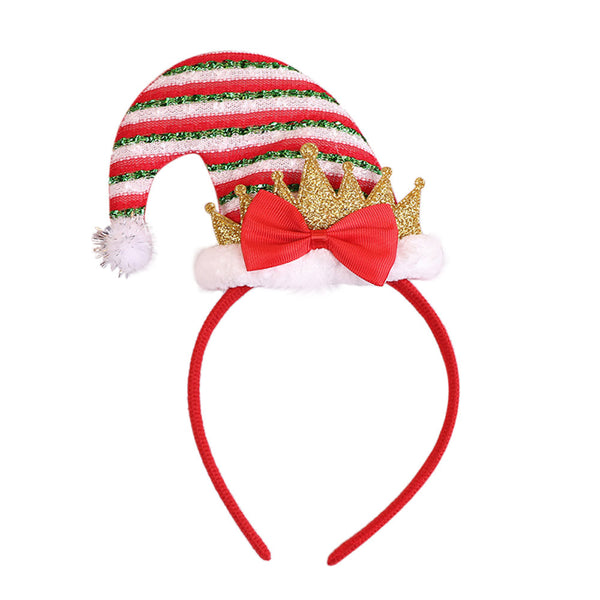 Christmas headband elf -green/white - Shopzinia Egypt