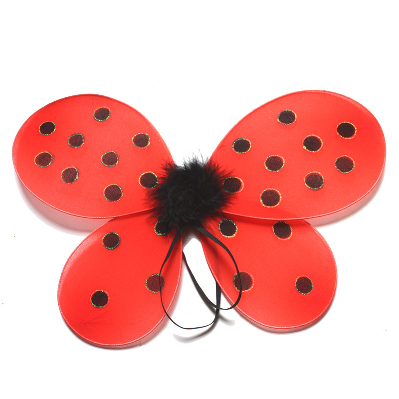 Kids Dress Up Ladybug Wings Aj Costumes