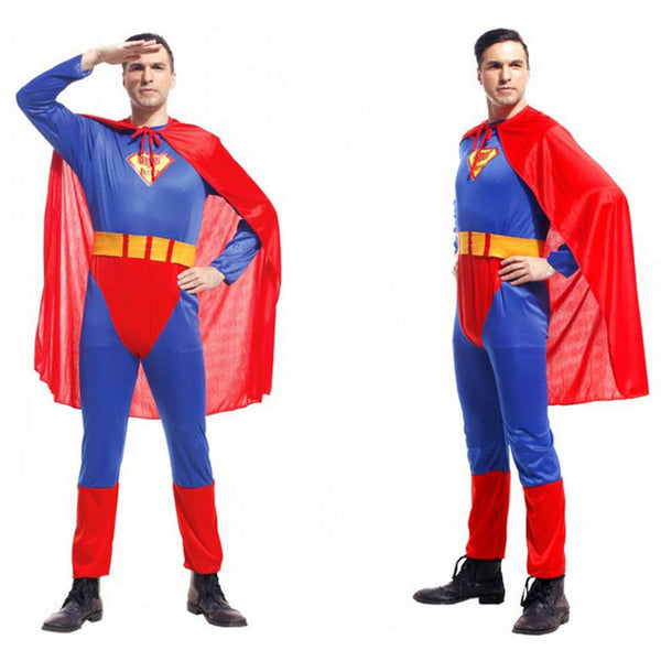 Adult Halloween costumes Superman costume Super Dad