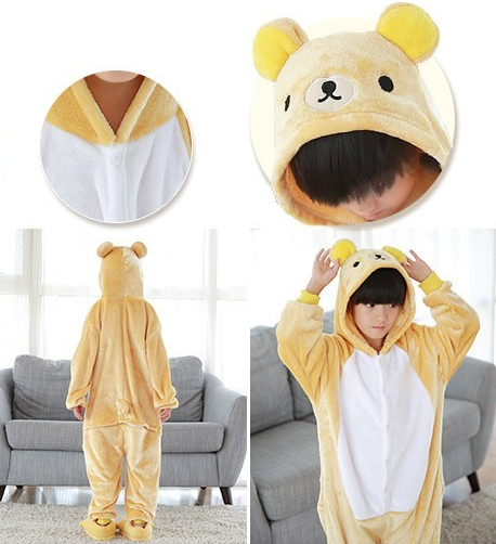 AJ Costumes-Yellow Bear - Shopzinia Egypt
