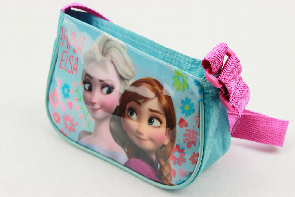 Cartoon shoulder bag-Blue-Aj Costumes