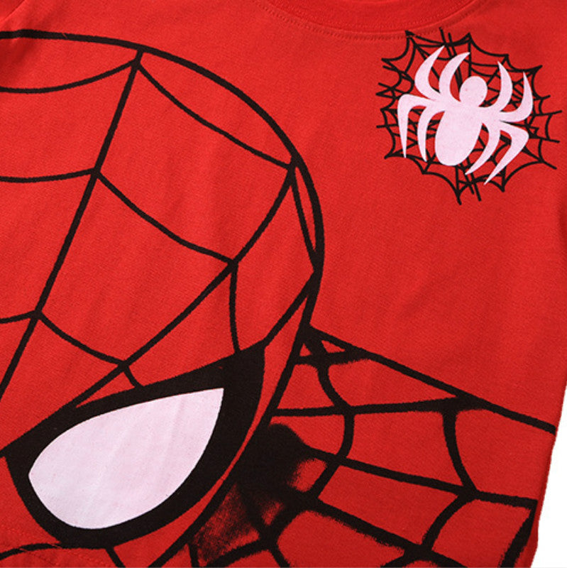 Pajamas Sets-Spider-man-Aj costumes