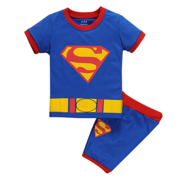 Pajamas Sets-Super-man-Aj costumes