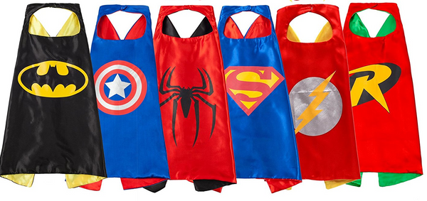 Birthday Party Costumes Superhero cape