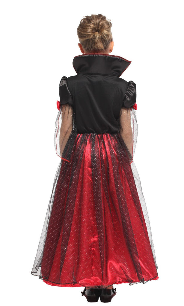 Vampire Princess Dress Children Halloween Party Cosplay Costumes -Aj Costumes - Shopzinia Egypt