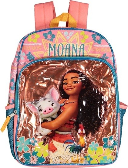 KIDS GIRLS MOANA BACKPACK, BRONZE/PINK -Disney- Aj costumes - Shopzinia Egypt