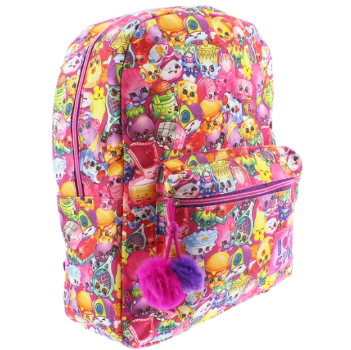 Shopkins Pink Backpack-Aj costumes