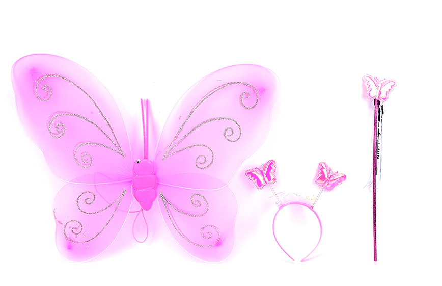 AJ COSTUMES -Cute Fairy Butterfly Wings