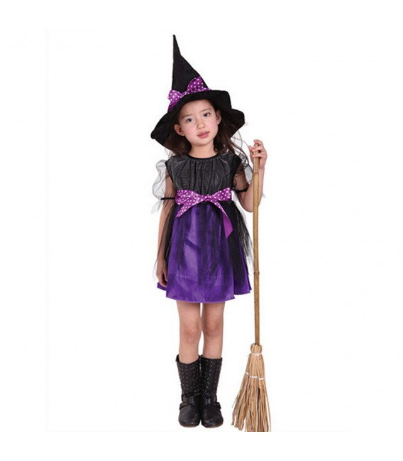 AJ Costumes Witch Costume-Halloween- ghost-Costumes For Girls 111 - Shopzinia Egypt