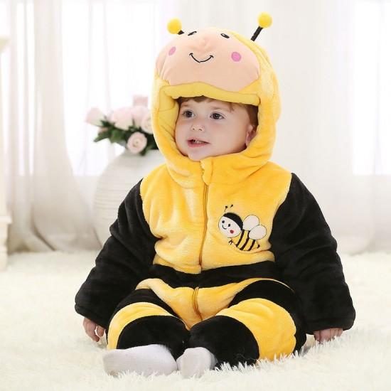Bees Onesie for Baby & Toddler Animal Kigurumi Pajama