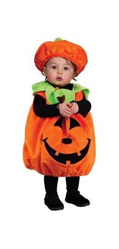 Childrens Happy Pumpkin Costume