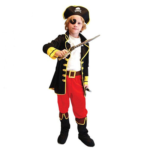PIRATE KING COSTUME KIDS Halloween Costume Cosplay Outfit