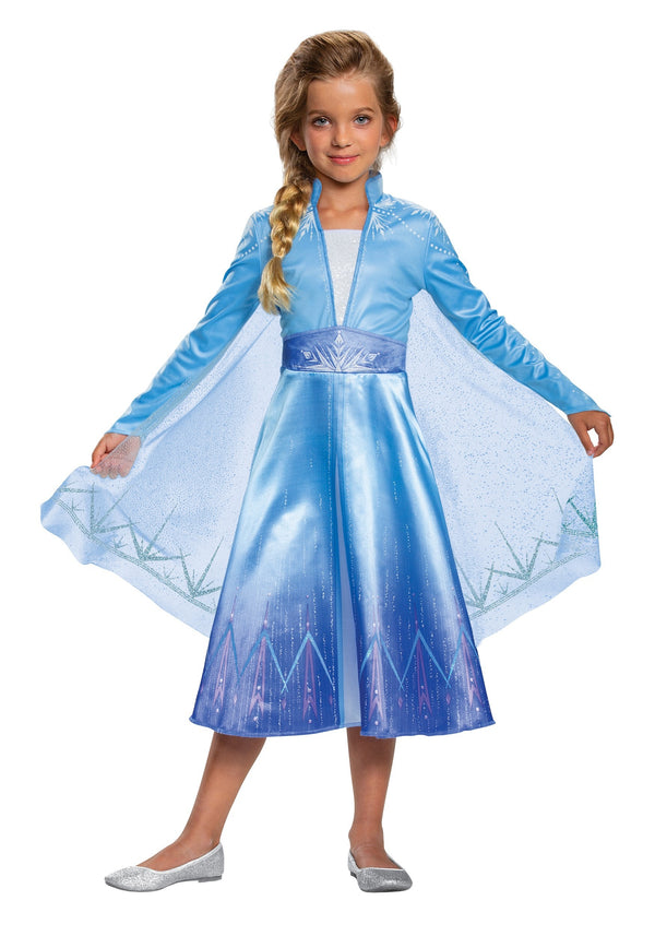 DISNEY FROZEN 2 GIRLS ELSA COSTUME