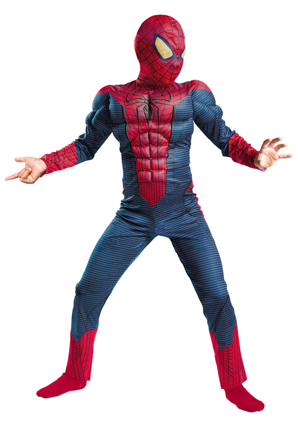 AJ Costumes Characters Costumes For Boys-Super hero -Spider - 101