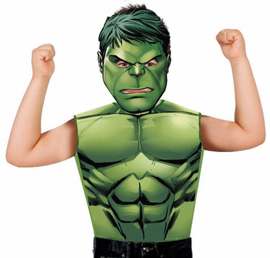 Hulk Party Dress Up Set