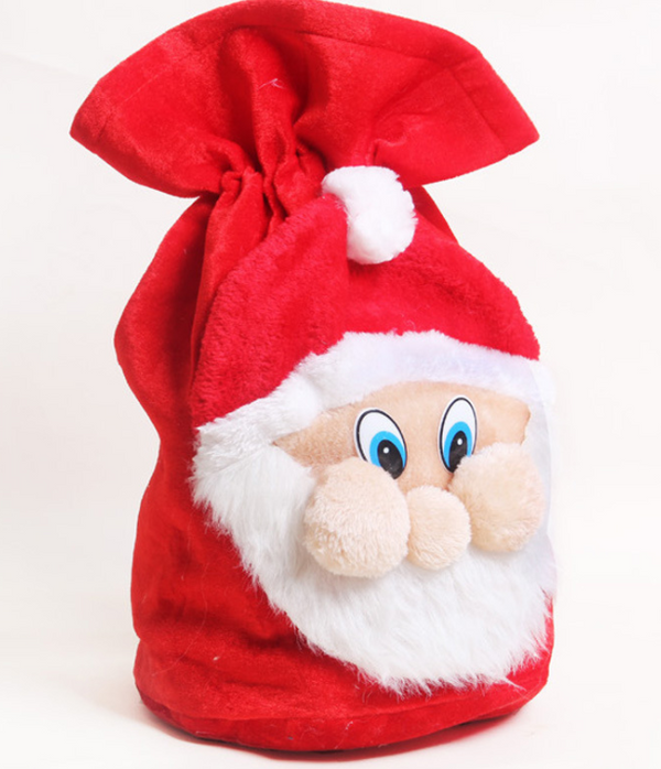 Bag Santa Claus dress up-Christmas Gift Bags-Party Home Decoration - Shopzinia Egypt