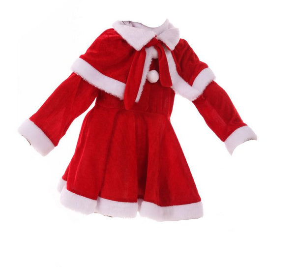 Santa Claus costume for Girls