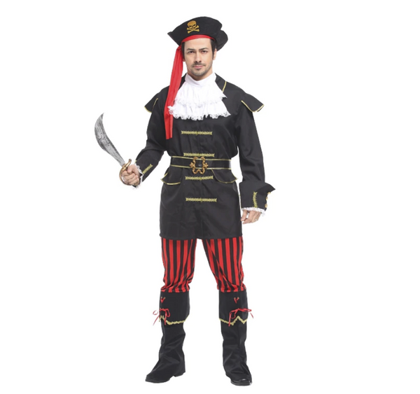 Pirate Adult Man Premium Costume