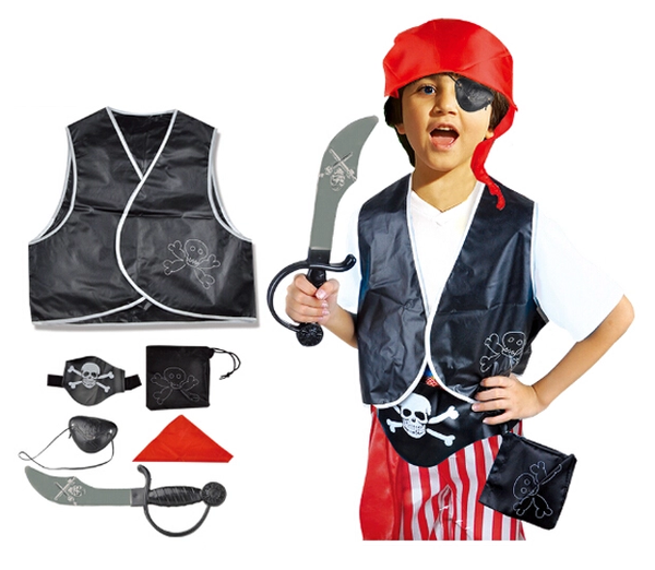 Pirate costume kids -Pirate Dress Up-ghost-Halloween-Aj costumes