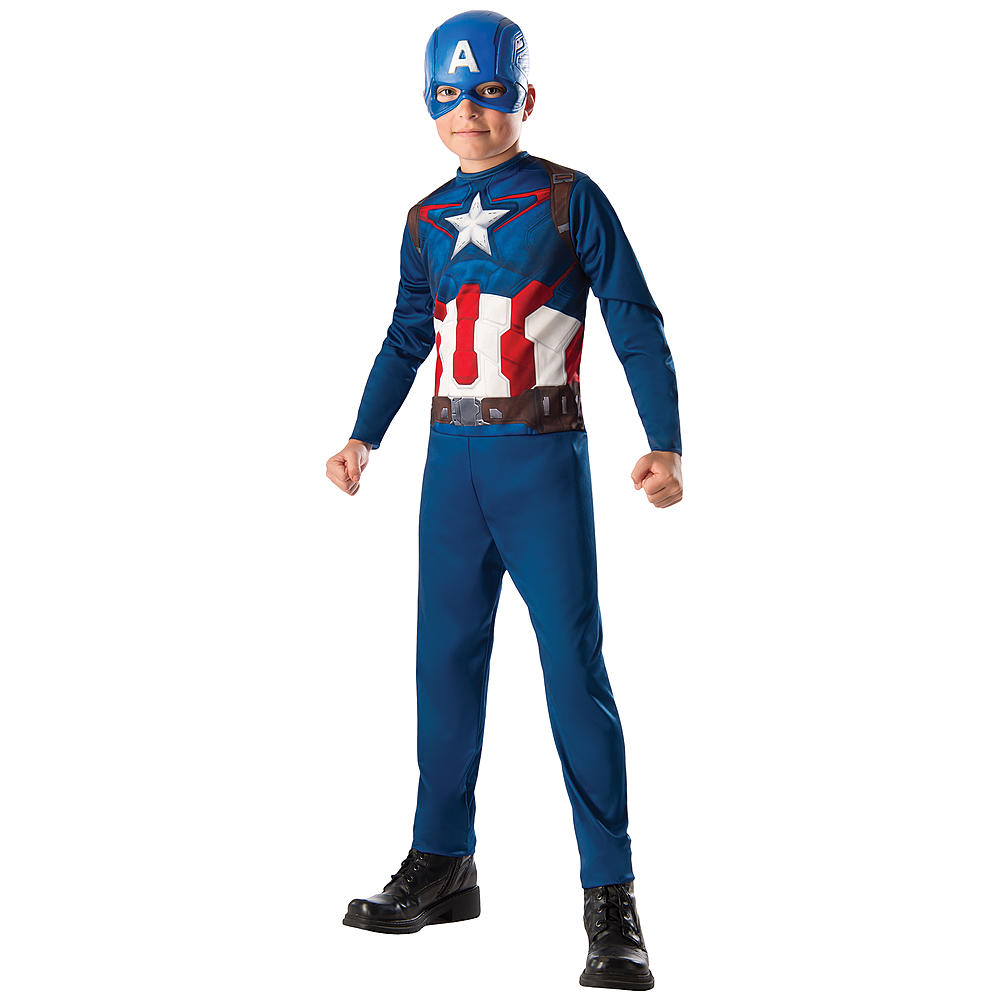 Aou Captain America Action Suit