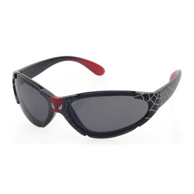 High Quality Spider Children's Sunglasses Kids Cute Anti UV Sun Glasses Boys Girls Friendly Eyewear Goggles Black Red