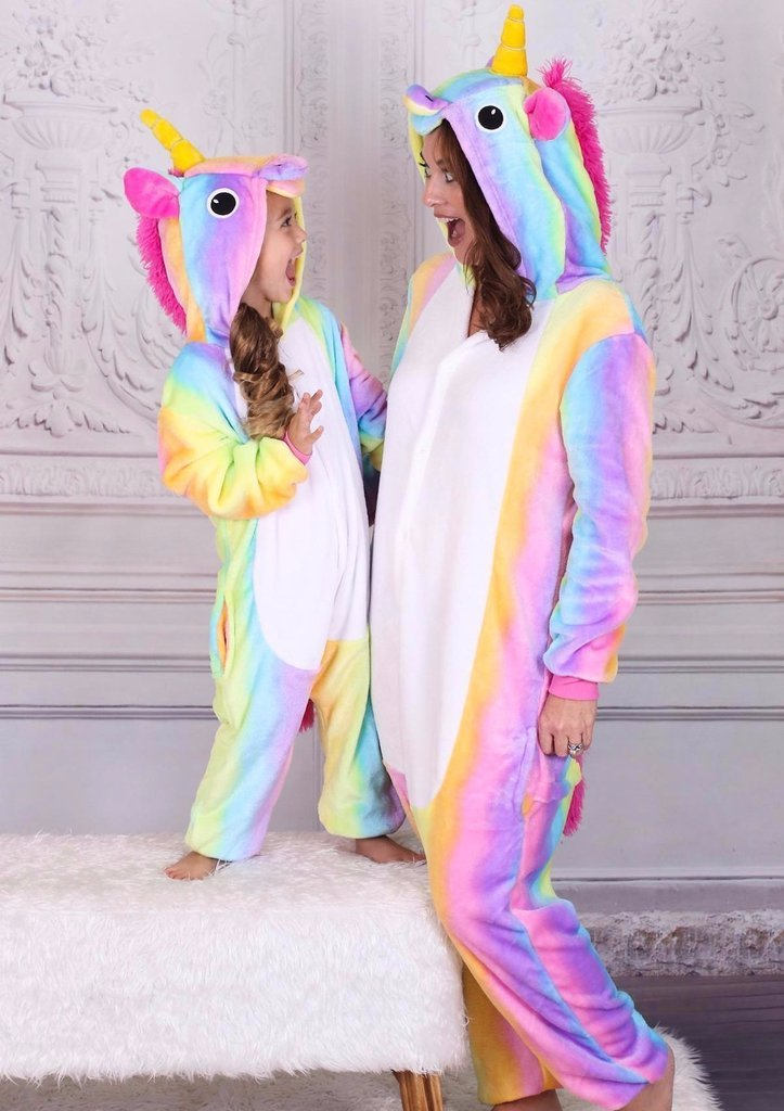 AJ Costumes-Adult Unicorn Multi - Shopzinia Egypt