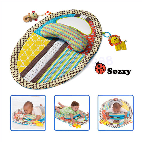 1pcs Baby Toy Tapete Infantil Early Education Game Blanket Baby Play Mats With Mirror Musical Toys 0-12 Months