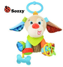 1pcs Sozzy Multifunctional Baby Toys Rattles Mobiles Soft Cotton Infant Pram Stroller Car Bed Rattles Hanging Animal Plush Toys