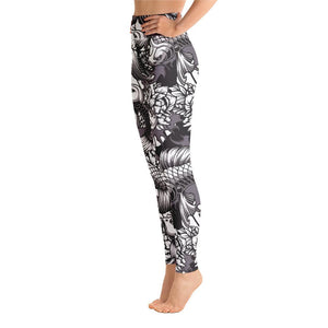 SunDawg Japanese Koi Yoga Leggings