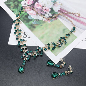 Baroque Emerald Set