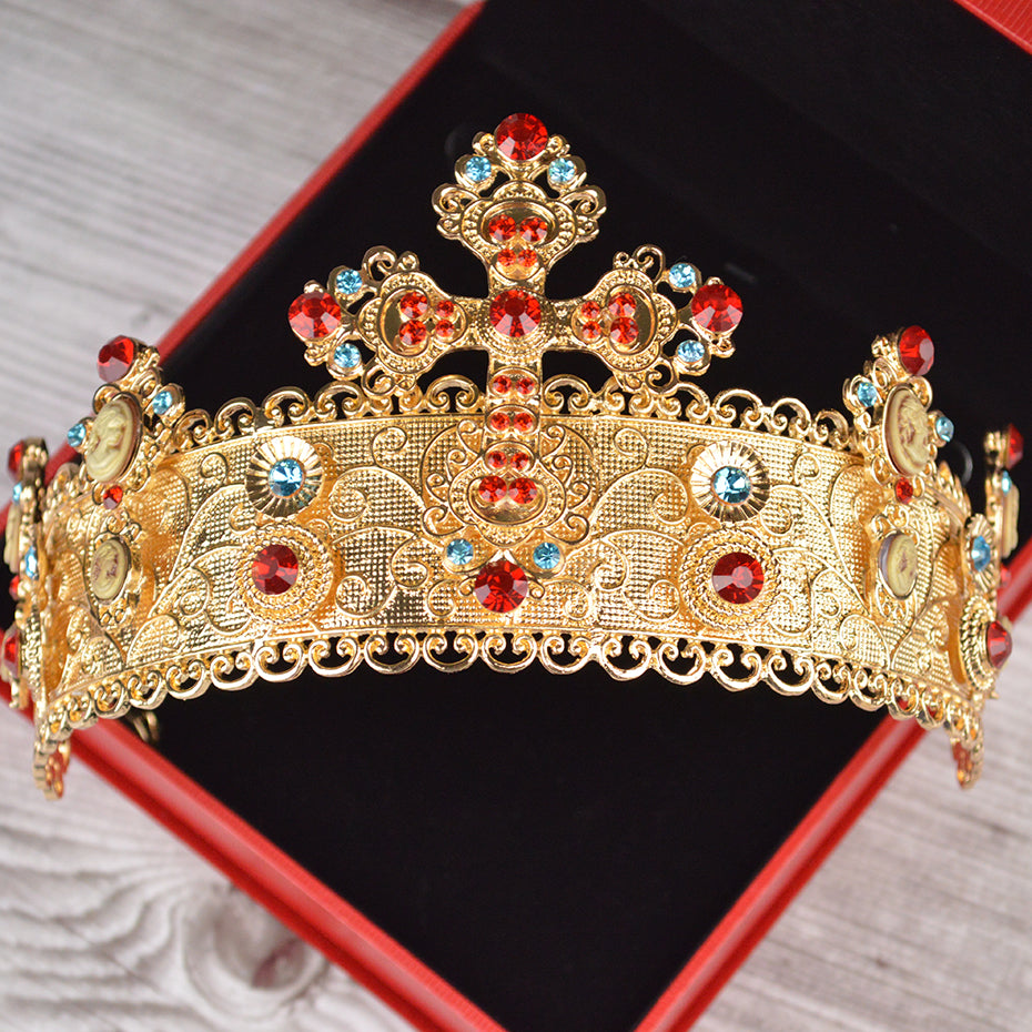 Golden Scroll Tiara