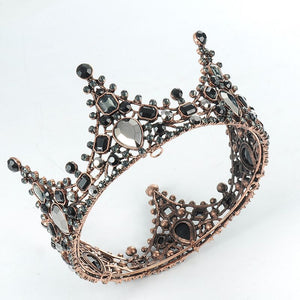 Black Crystals Crown