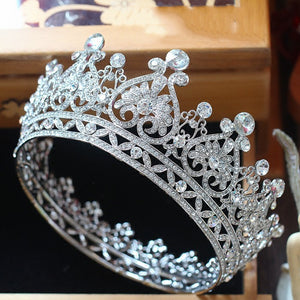 Silver Heart Shine Crown