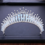 Clear Crystals Tiara