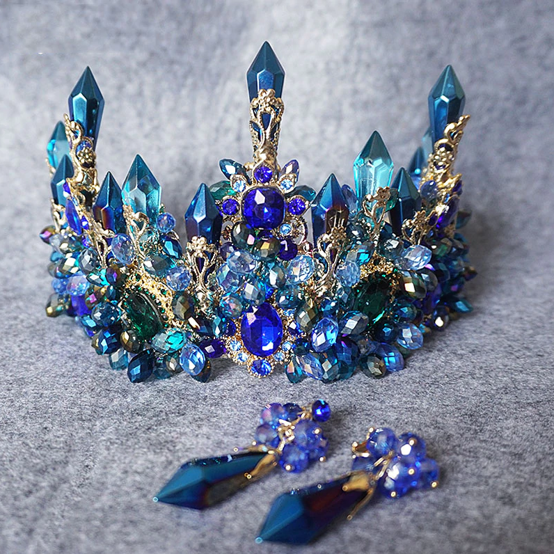 LIMITED EDITION Blue Mermaid Tiara