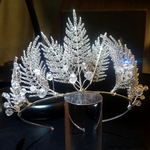 Crystal Feather Tiara