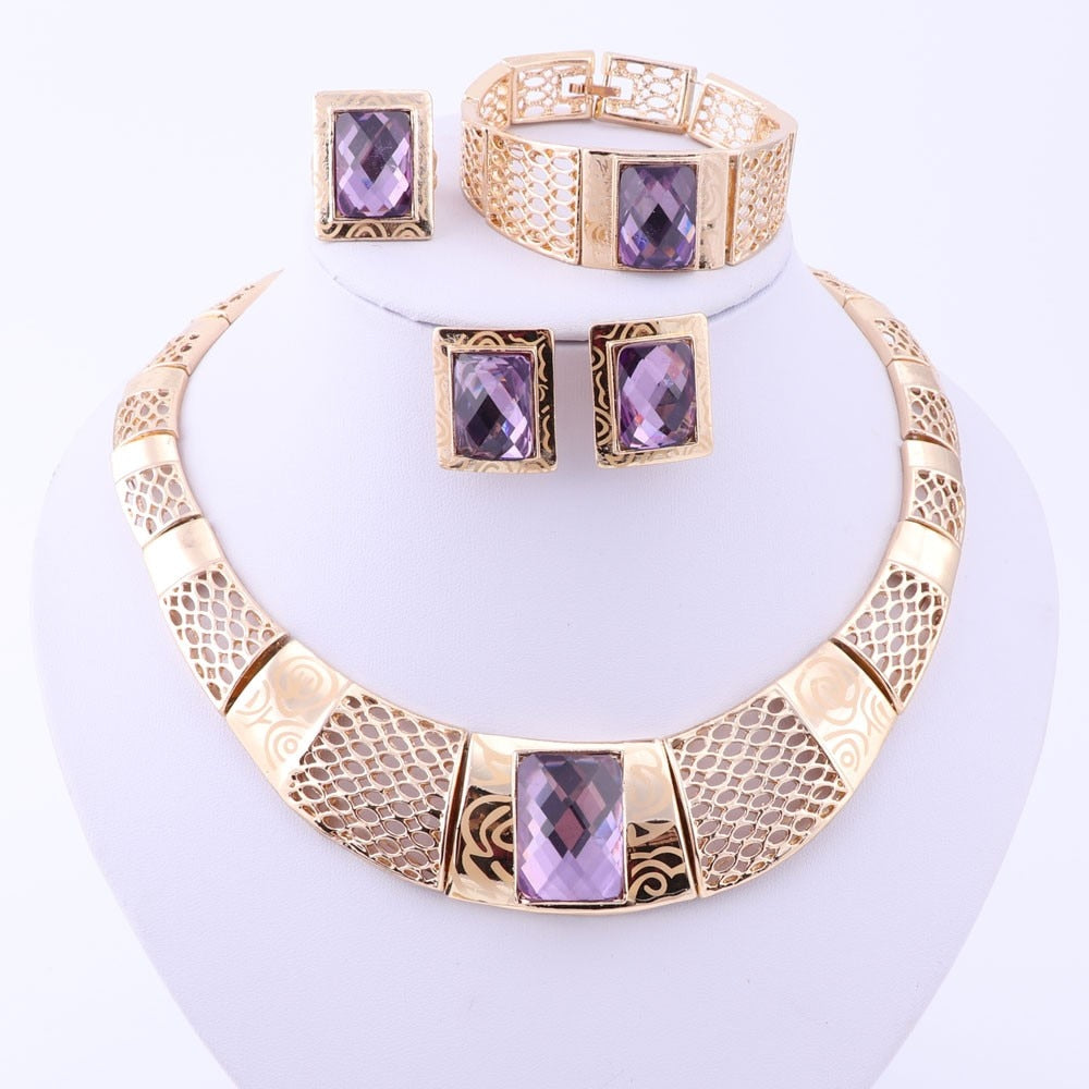 Amethyst Touch Set