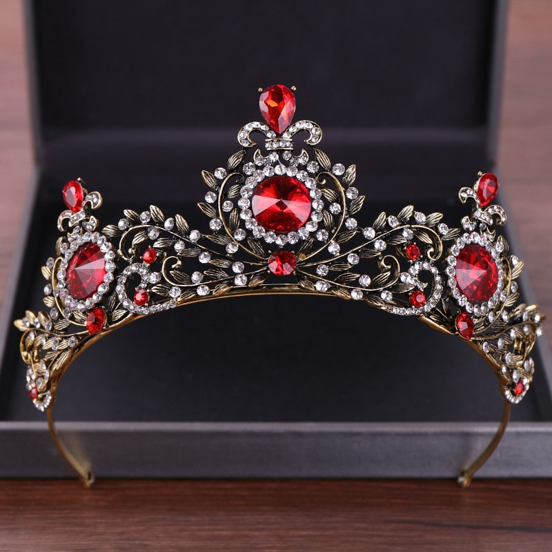 Ruby Circled Tiara