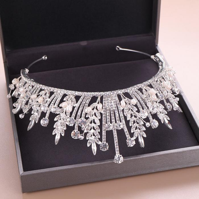 Crystal Grains Tiara