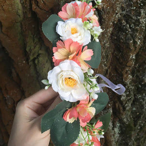 Boutique Floral Tiara