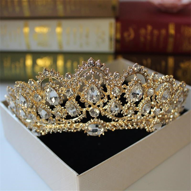 Greek Crystal Tiara