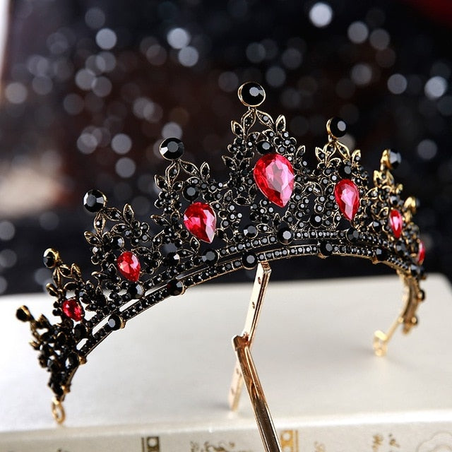 Dark Ruby Tiara