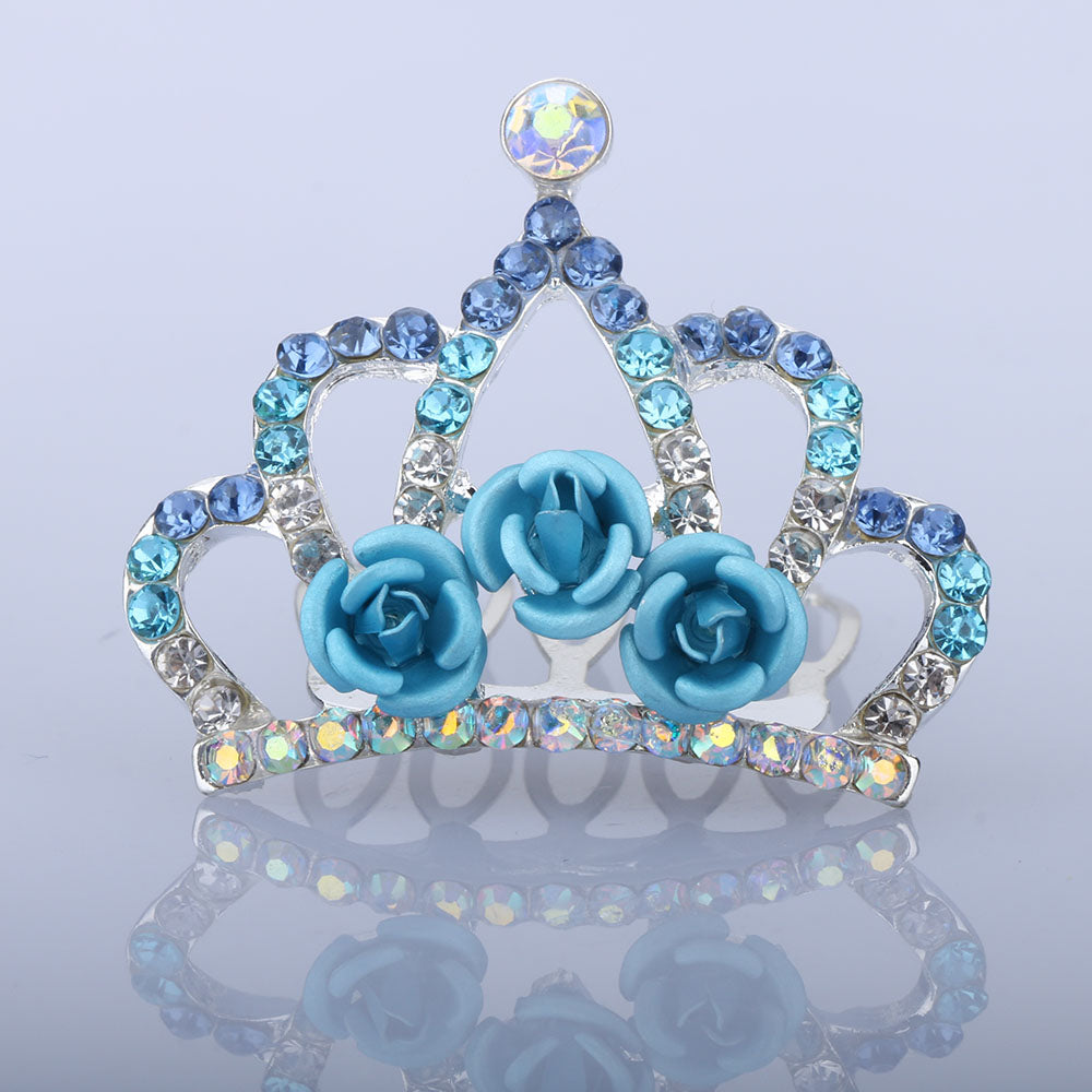 Rose Kids Tiara Hairpin