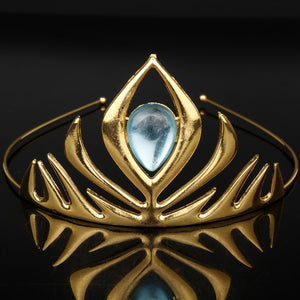 Golden Amulet Tiara
